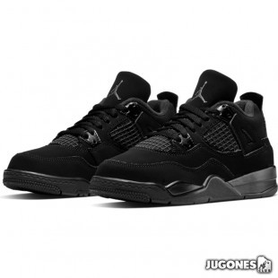 Jordan 4 Retro PS Black Cat