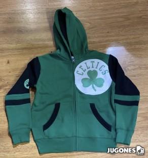 Full Zip Boston Celtics Jr