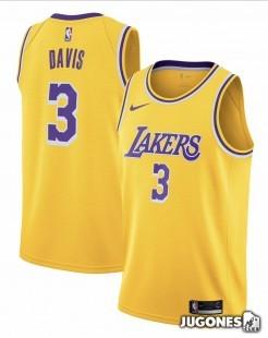 Big Kids` NBA Anthony Davis Jersey