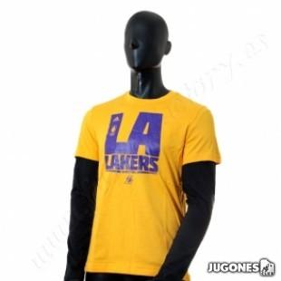 Camiseta 3 en 1 Adidas LA Lakers