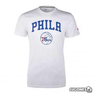 Camiseta New Era Philadelfia 76ers