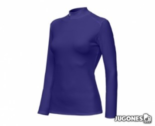 Camiseta Termica Under Armour M/L-Mujer