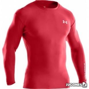 Camiseta T?rmica Under Armour M/L-Hombre
