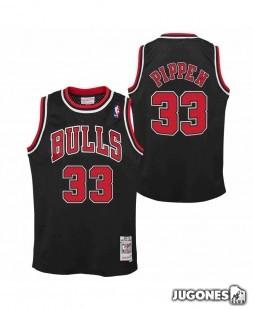 Camiseta Chicago Bulls Scottie Pippen Jr 1997-1998