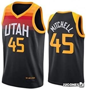 Camiseta City Edition Utah Jazz Donovan Mitchell