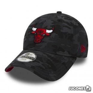 Gorra New Era Chicago Bulls Camo Jr