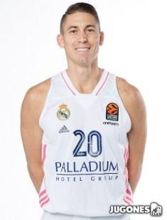 Camiseta Real Madrid 2020/2021 Jr Jaycee Carroll