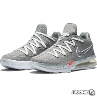 Lebron XVII Low Particle Grey