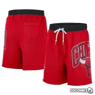 Chicago Bulls Nike Courtside Fleece Short