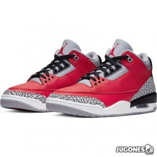 Jordan 3 Retro SE Red Cement