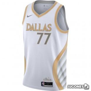 Camiseta Dallas Mavericks City Edition Luka Doncic