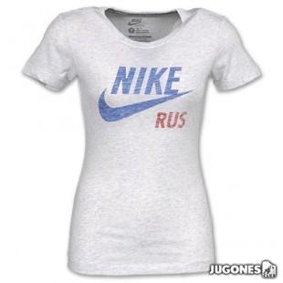 T-SHIRT COUNTRY WOMEN RUSSIA