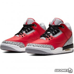 Jordan 3 Retro (GS) Red Cement