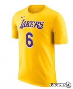 Camiseta Los Angeles Lakers Lebron James