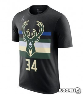 Camiseta Giannis Antetokounmpo Milwaukee Bucks Statement Edition