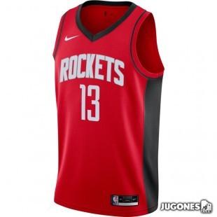 Camiseta Houston Rockets James Harden Icon Edition 2020