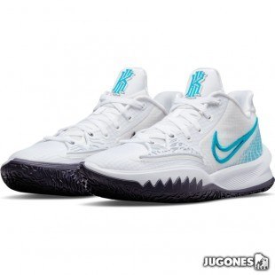 Kyrie Low 4 White-Laser Blue
