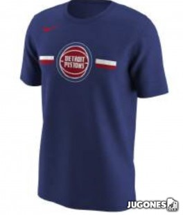Camiseta Nike Detroit Pistons Jr