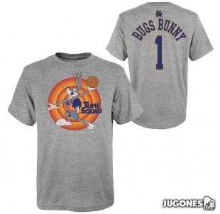 Bugs Bunny Space Jam Tune Squad Short Sleeve T-Shirt