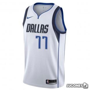 NBA Dallas Swingman Jersey Doncic `Association Edition`