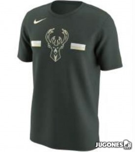 Camiseta Nike Milwaukee Bucks Jr