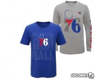 Camiseta 3 en 1 Philadelphia 76ERS