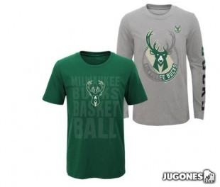 3-in-1 T-Shirt Milwaukee Bucks