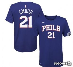 Philadelphia 76Ers Joel Embiid  T-Shirt