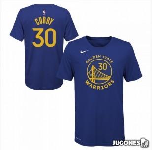 Stephen Curry Golden State Warriors Jr