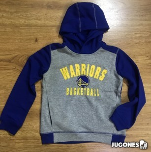 Retro Block NBA Jr Golden State WarriorsHoodie