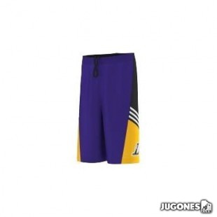 Short Nba Angeles Lakers HPS niñ@s
