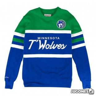 Head Coach Crew Minnesota Timberwolves