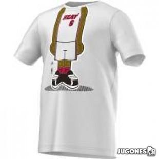 Camiseta Lebron James Cuerpo
