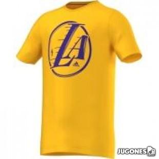 Camiseta Angeles Lakers Niñ@s