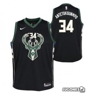 Camiseta NBA Milwaukee Bucks`Giannis Antetokounmpo`