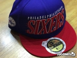 New Era Speed Stream Jr 76ERS hat