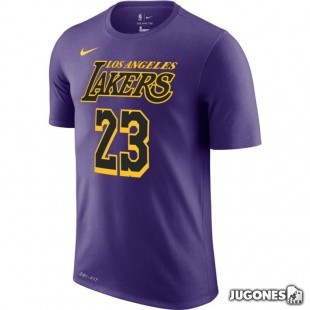 Camiseta Nike James Lakers City Edition
