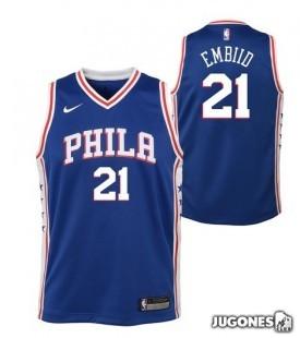 Camiseta NBA Philadelphia 76ERS `Joel Embiid`