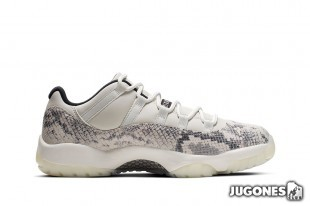 Jordan 11 Retro Low SnakeSkin Light Bone