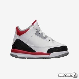 Nike Air Jordan 3 Fire Red TD