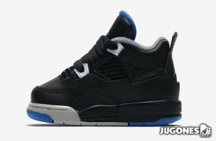 Nike Air Jordan 4  TD ` Motosport Away`