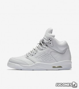 Air Jordan V Premium Pure Platinum