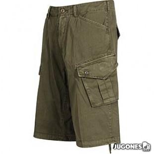 Pantalon corto cargo