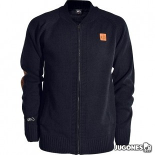 K1X Crest Knit College Jacket