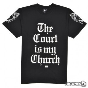 Camiseta K1X The Court is my Church