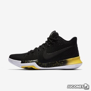 Kyrie 3`Black Yellow`