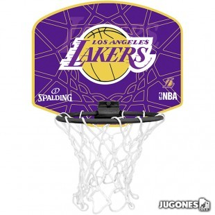 Mini Canasta Spalding Angeles Lakers