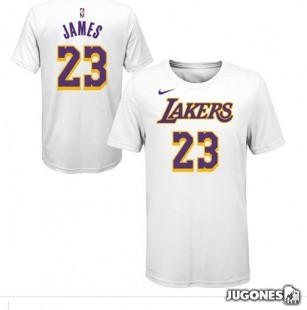 Camiseta Lebron James Lakers