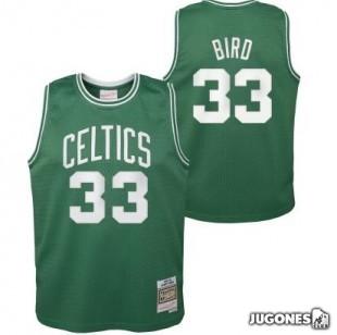 Camiseta Boston Celtics Larry Bird Jr