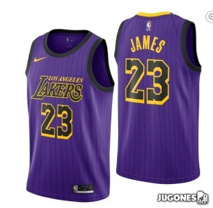 NBA Shirt Lebron James City Edition